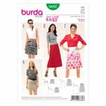 BURDA - 6682 Ladies Skirt