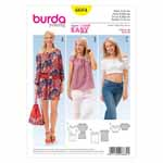 BURDA - 6684 Ladies Dress & Blouse