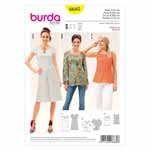 BURDA - 6685 Ladies Dress & Blouse