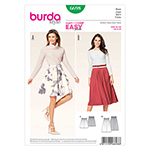 BURDA - 6698 Ladies Skirt