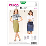 BURDA - 6700 Ladies Skirt