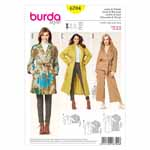 BURDA - 6704 Ladies Jacket/Coat
