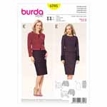 BURDA - 6705 Ladies Coordinates