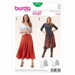 BURDA - 6714 Ladies Skirt