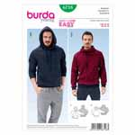 BURDA - 6718 Mens Sweatshirt