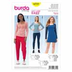 BURDA - 6722 Ladies Dress/Top Young