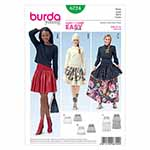 BURDA - 6724 Ladies Skirt