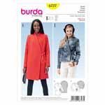 BURDA - 6727 Ladies Jacket Young