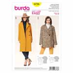 BURDA - 6736 Ladies Jacket/Coat