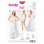BURDA - 6739 Ladies Petticoat