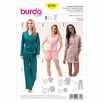 BURDA - 6742 Ladies Pyjama