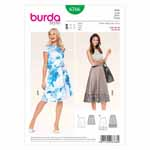 BURDA - 6766 Ladies Skirt