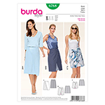 BURDA - 6768 Ladies Skirt