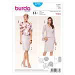 BURDA - 6775 Ladies Suit