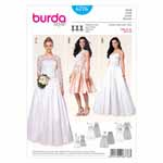 BURDA - 6776 Ladies Dress - Wedding