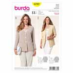 BURDA - 6782 Ladies Jacket