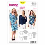 BURDA - 6785 Ladies Dress - Top
