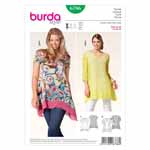 BURDA - 6786 Ladies Top - Plus