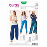 BURDA - 6788 Ladies Pants - Plus