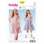 BURDA - 6793 Ladies Dress Young