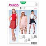 BURDA - 6796 Ladies Skirt - Young