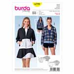 BURDA - 6799 Ladies Jacket - Young