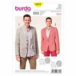 BURDA - 6813 Mens Jacket