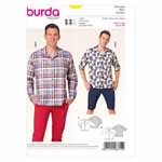 BURDA - 6814 Mens Top