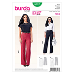 BURDA - 6817 Ladies Pants