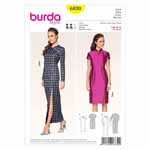 BURDA - 6830 Ladies Dress Evening