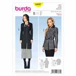 BURDA - 6847 Ladies Jacket Young