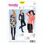 BURDA - 6848 Ladies Top Young