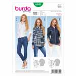BURDA - 6849 Ladies Top Young