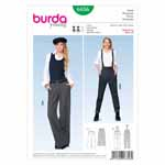 BURDA - 6856 Ladies Pants Young