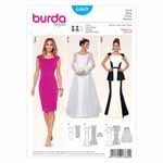BURDA - 6869 Ladies Dress Evening