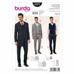 BURDA - 6871 Mens Suit/Vest