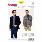 BURDA - 6872 Mens Jacket