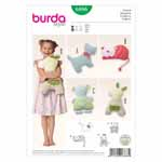 BURDA - 6886 Accessory Toy Pillow