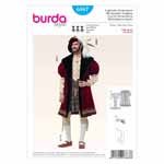 BURDA - 6887 Costume Historical Mens