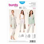 BURDA - 6898 Ladies Pantsuit