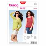 BURDA - 6923 Ladies Top
