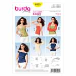 BURDA - 6925 Ladies Top/Bolero