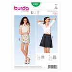 BURDA - 6928 Ladies Skirt