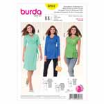 BURDA - 6957 Ladies Dress/Blouse