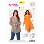 BURDA - 6972 Ladies Dress/Top
