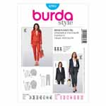 BURDA - 6985 Ladies Pantsuit