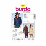 BURDA - 7018 Ladies Jacket