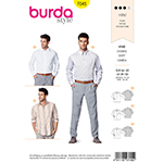 BURDA - 7045 Mens Shirt