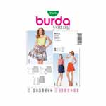 BURDA - 7049 Ladies Skirt