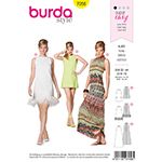 BURDA - 7056 Ladies Dress-Young